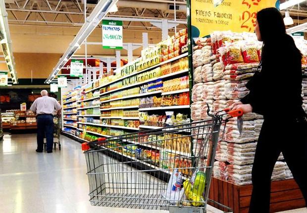 supermercado ; inflação ; consumo ; compras ; cesta básica ;  (Foto: Tânia Rego/Agência Brasil)