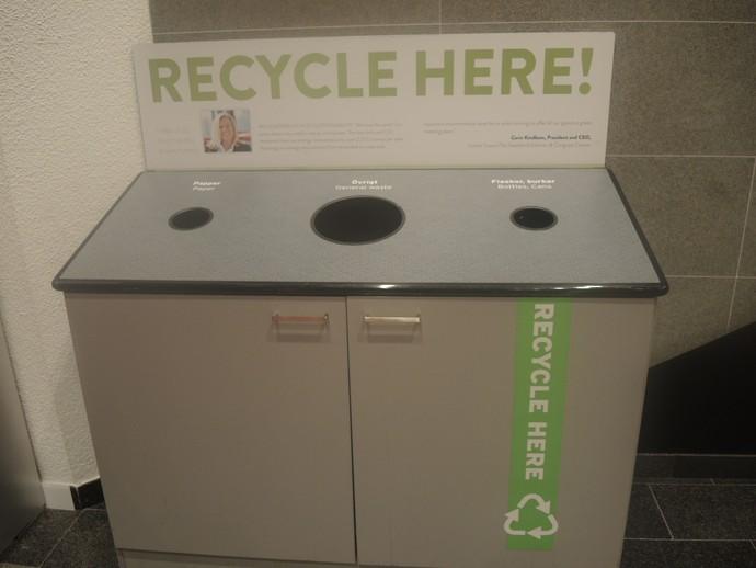 Copa do Mundo de hipismo, Gotemburgo, reciclagem (Foto: Rodrigo Breves / GloboEsporte.com)