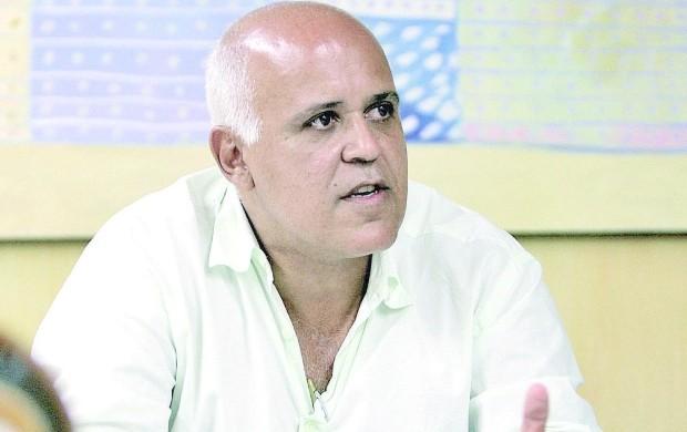 Maurício Sampaio, vice-presidente do Atlético-GO (Foto: Lailson Duarte/O Popular)