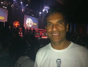 Rorion Gracie posa durante o Mestre do Combate (Foto: Ana Hissa/SporTV.com)