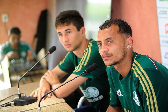 Apresentação ryder matos e alan Patrick Palmeiras (Foto: Marcos Ribolli)