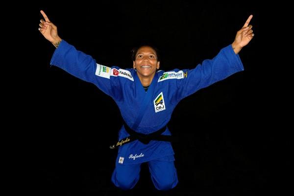 A judoca Rafaela Silva (Foto: Getty Images)