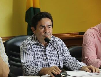 Getúlio Pinheiro, presidente do Conselho Deliberativo do Rio Branco (Foto: Duaine Rodrigues)