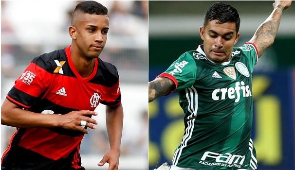 Flamengo e Palmeiras se enfrentam no Mané Garrincha (Foto: Divulgação)