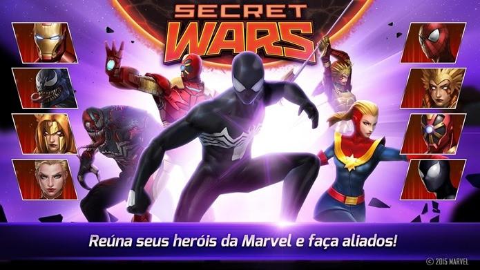 Guerras Secretas coloca todo mundo para lutar em Marvel Future Fight (Foto: Divulgação / Netmarble)