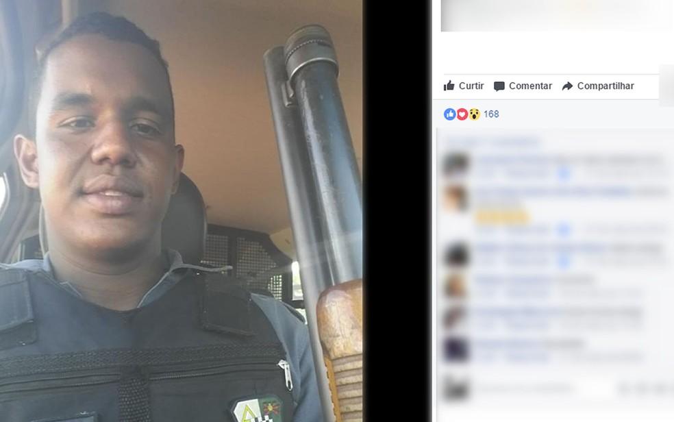 Rhael Jaime Gonçalves está preso (Foto: Facebook/Reprodução)