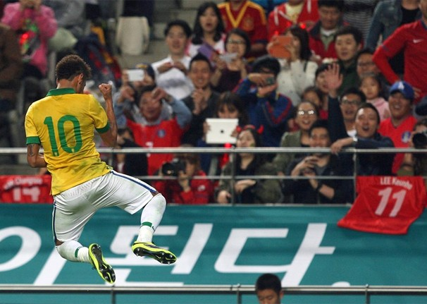 Seleção enfrenta a de Honduras em um dos últimos amistosos do Brasil antes da Copa do Mundo de 2014 (Foto: Mowa Press)
