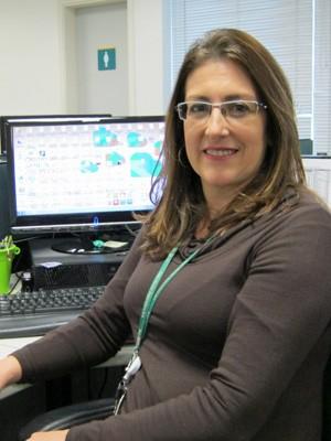 Denise Boaventura, analista de RH (Foto: Pâmela Kometani/G1)
