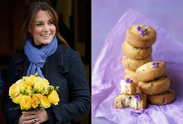 Para curar os enjoos, biscoitos de lavanda. Essa é o segredinho matinal de Kate Middleton (Foto: Getty Images e Reprodução)