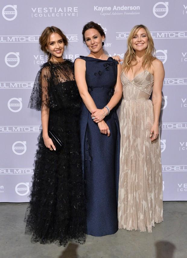 Jessica Alba, Jennifer Garner e Kate Hudson (Foto: Getty Image)