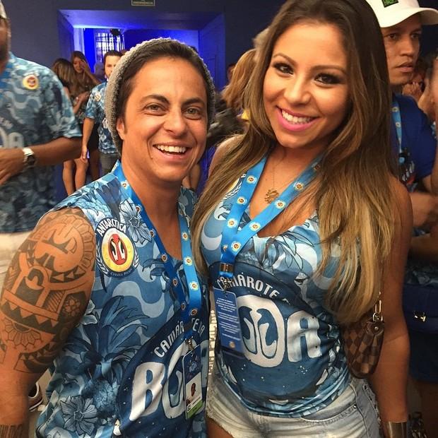 Thammy Miranda e a namorada Andressa Ferreira (Foto: Reprodução/Instagram)