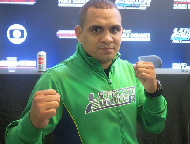 Luiz Besouro UFC TUF Brasil MMA (Foto: Adriano Albuquerque/Globoesporte.com)