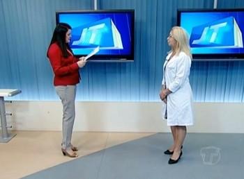 Quadro Saúde recebe médica pediatra Zilma Pimentel (Foto: Priscila Miranda/ TV Tapajós)