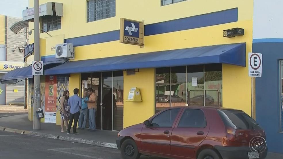 Agência dos Correios do Núcleo Mary Dota também vai fechar (Foto: Reprodução/TV TEM)