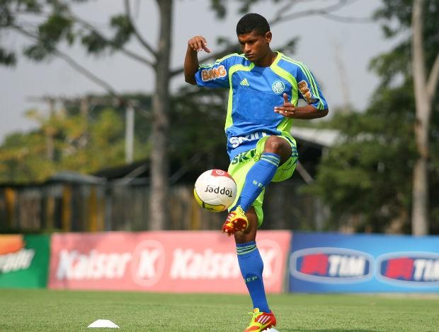 Márcio Araújo em treino do Palmeiras (Foto: Anderson Rodrigues / Globoesporte.com)