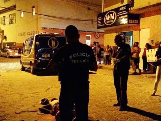 Polícia da cidade Nova Viçosa investiga motivação do crime (Foto: Sul Bahia News)