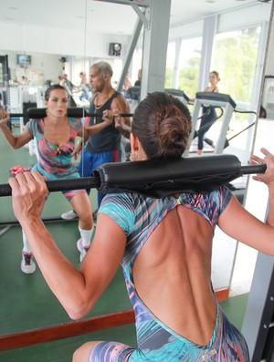 Carla Prata treinando euatleta (Foto: Patricia Palhares / EUATLETA.COM)