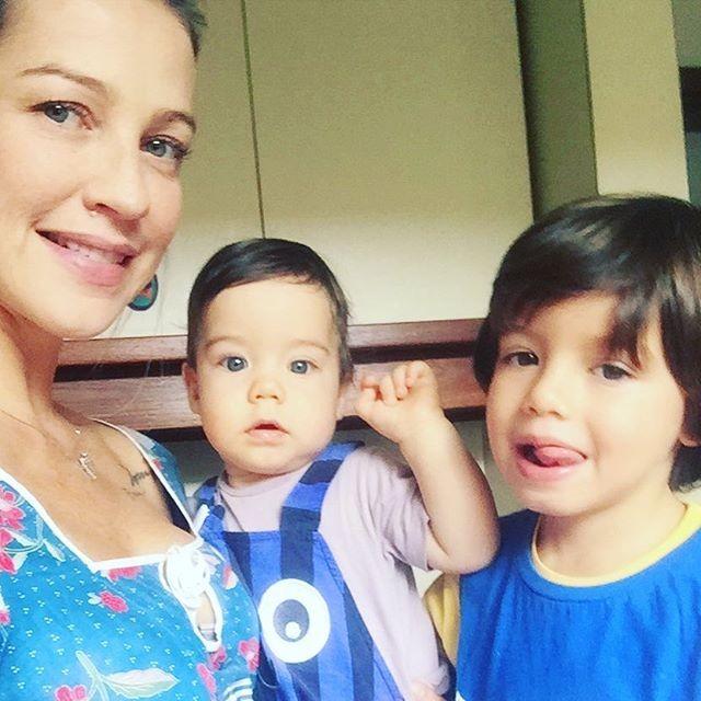 Luana Piovani e seus meninos (Foto: Reprodução/ Instagram)