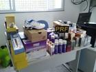 PRF realiza operação e apreende itens contrabandeados no Vale do Ribeira
