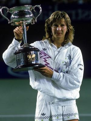 Steffi Graf Tênis (Foto: Getty Images)