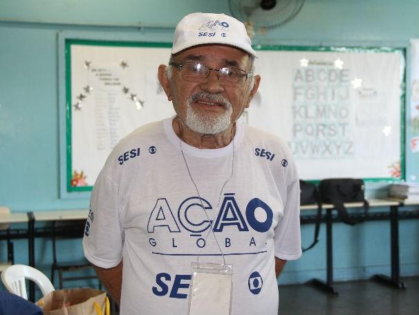 Professor Araújo participou de 21 Ações Globais (Foto: Divulgação / Paula Gabrielle)