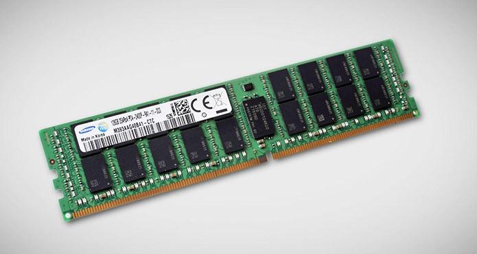 Samsung lança memória RAM mais poderoso do mundo, com 128 GB de capacidade e alta velocidade (Foto: Divulgação)