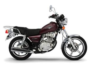 Suzuki Intruder 125 (Foto: Divulgação)