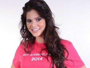Ingrid Nepomuceno, finalista do Miss ES 2014 (Foto: Wanderson Lopes/Divulgação)