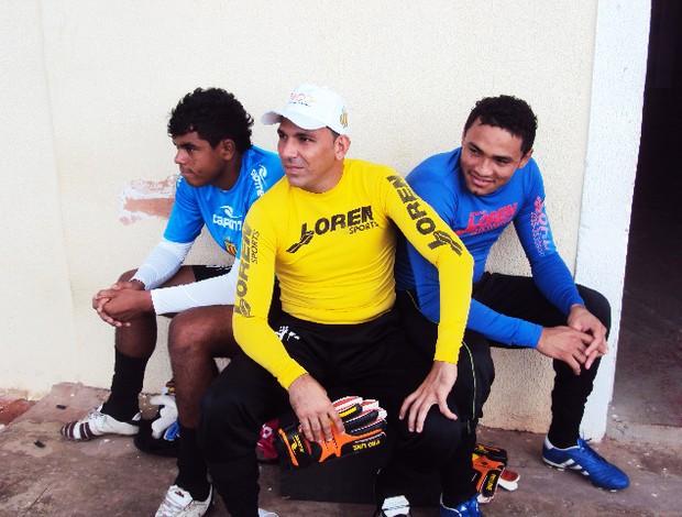 Jean (à esquerda) e Rodrigo Ramos (meio) já estão confrimados. Já Deivid ainda negocia renovação (Foto: Afonso Diniz/Globoesporte.com)