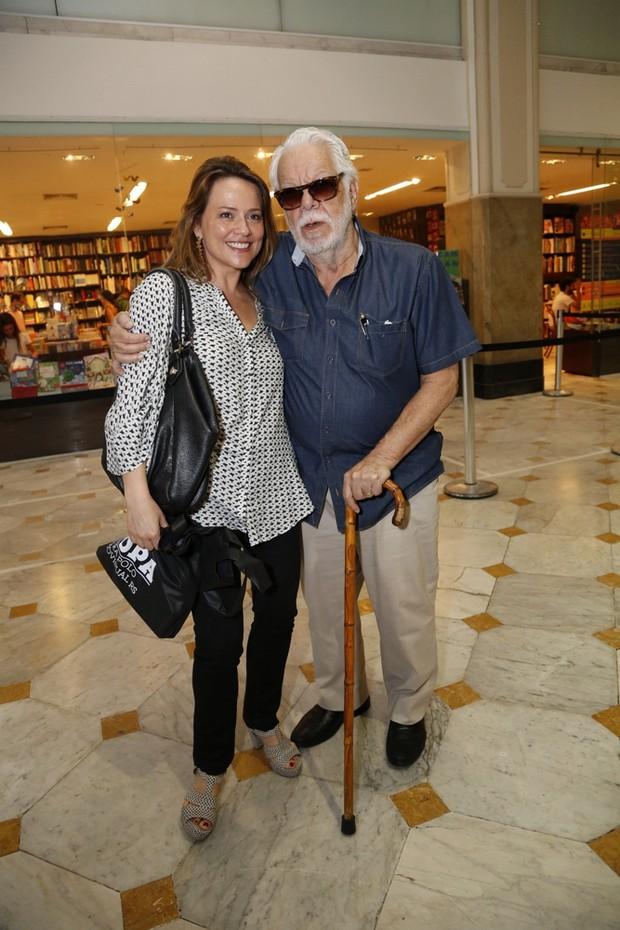 Vivianne Pasmanter e Manoel Carlos (Foto: Felipe Assumpção / AgNews)