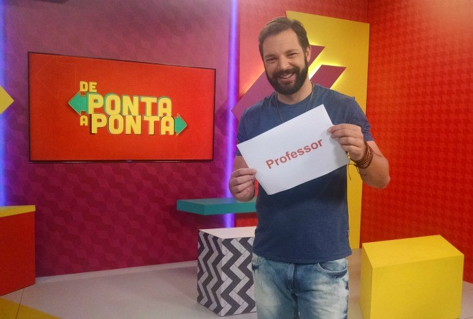 Professor é o tema do De Ponta a Ponta deste sábado (24) (Foto: Reprodução / TV TEM)