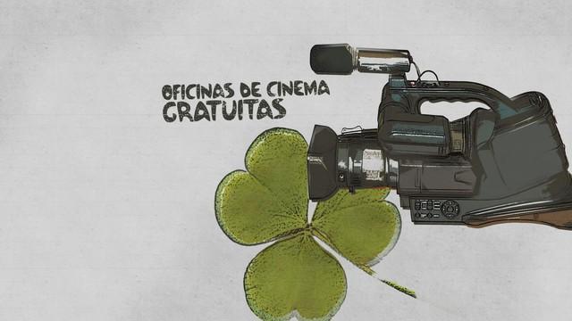 Oficinas Curta Santos (Foto: Arte/TV Tribuna)