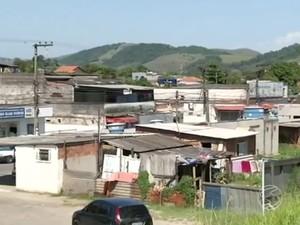 Distrito da Califórnia, em Barra do Piraí (Foto: Reprodução/TV Rio Sul)