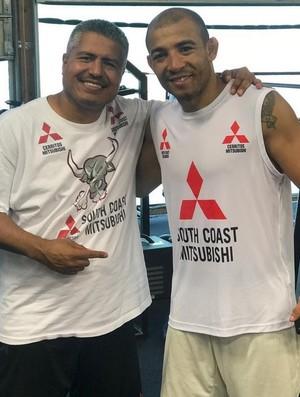 Robert Garcia e José Aldo (Foto: Reprodução / Instagram)