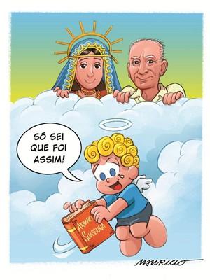 G1 Mauricio De Sousa Divulga Homenagem A Ariano Suassuna