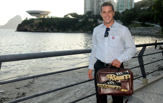 Ex- jogador Alberoni (Foto: André Durão)