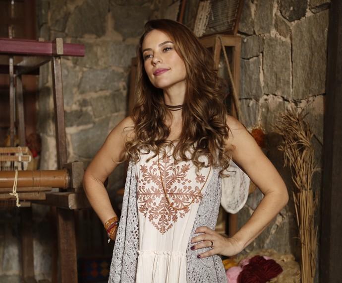 Melissa será casada com Felipe e mãe de Alex na segunda fase (Foto: Raphael Dias/Gshow)