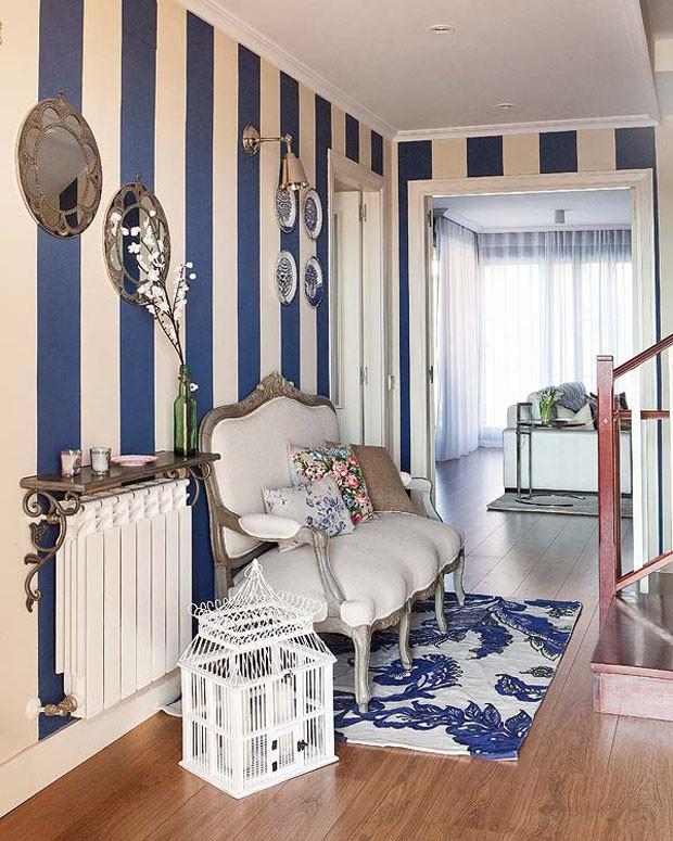 Uma morada da cor do mar - Casa Vogue | Interiores