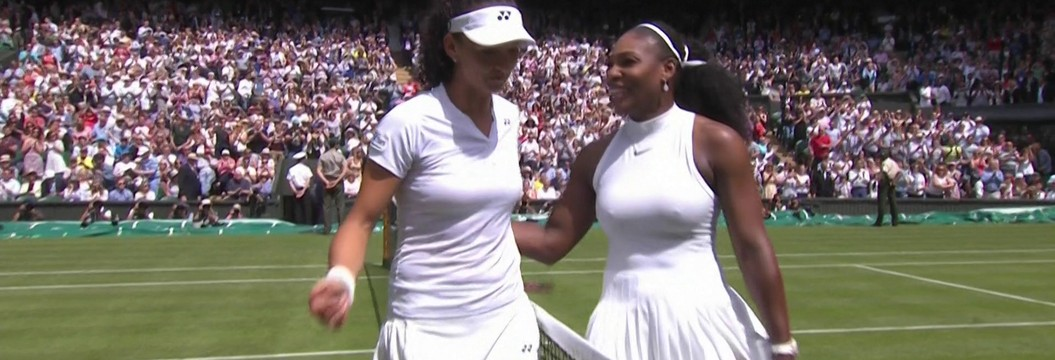 Serena Williams derrota Amra Sadikovic  na primeira rodada de Wimbledon