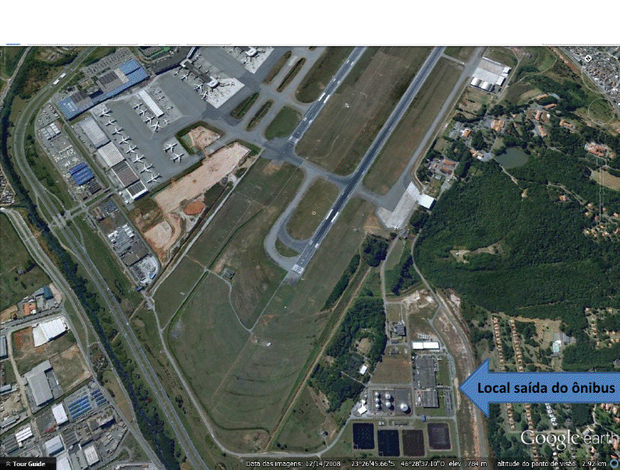 aeroporto cumbica corinthians  (Foto: Divulgação)
