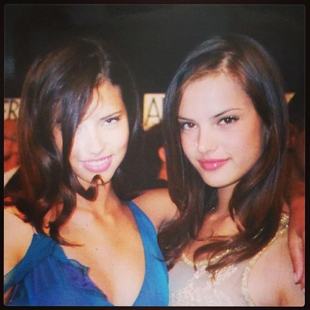 Adriana Lima e Alessandra Ambrósio (Foto: Reprodução/Instagram)