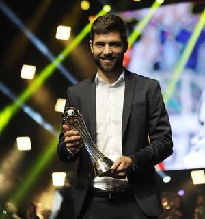 Felipe, premiação do Paulistão (Foto: Marcos Ribolli)
