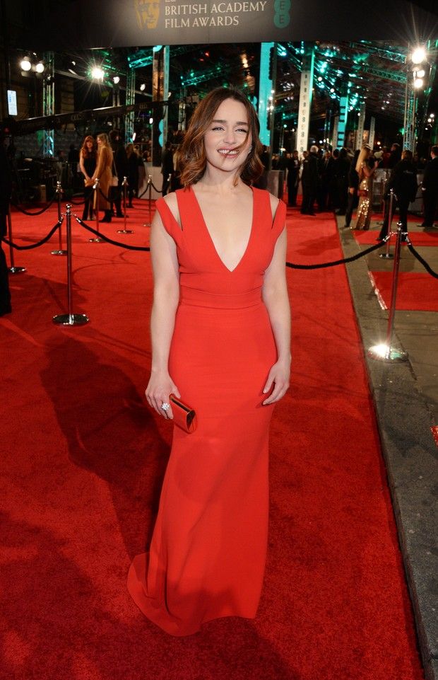 Emilia Clarke no BAFTA (Foto: Getty Images)