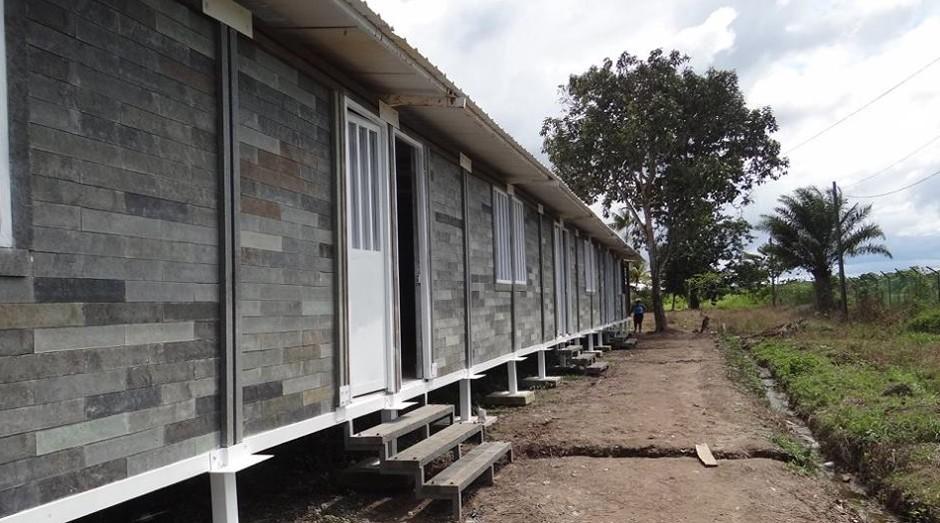 Casa da Conceptos Plasticos na Colômbia: projeto é premiado pelo mundo (Foto: Reprodução)