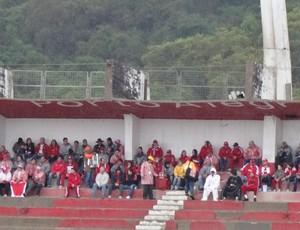 Torcida do Inter no Beira-Rio (Foto: Hector Werlang/GLOBOESPORTE.COM)