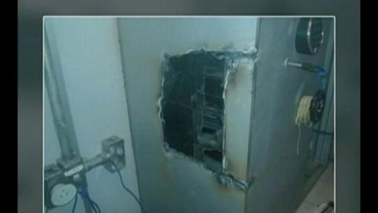 Bandidos arrombam caixas eletrônicos e cofre em Tucuruí