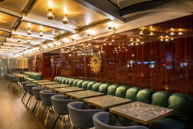 Tom Dixon reforma bar dos anos 60 em Paris (Foto: Divulgação)