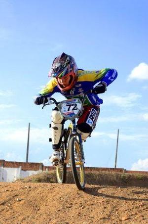 Mattheus Henning bicicross (Foto: Moisés Henning / Arquivo Pessoal)