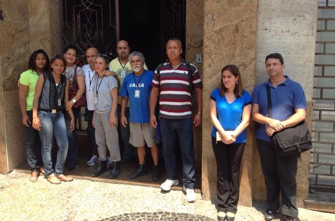 Botafogo Ministério do Trabalho (Foto: Vicente Seda)