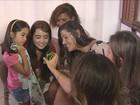 Para garantir proteção, mulheres se unem para ir à praia em Florianópolis